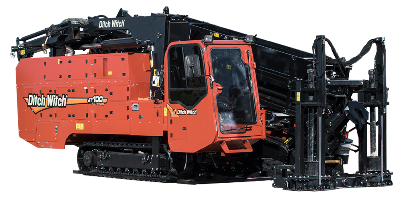 Ditch Witch JT100 All Terrain Directional Drilling Rig